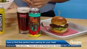 Craft beer and gourmet food pairings (04:47)