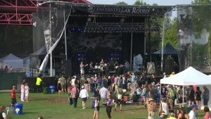 Hot and humid day for Interstellar Rodeo festival at The Forks