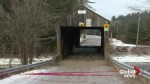 Weekend storm claims another historic covered bridge in New Brunswick