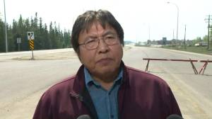 'Very trying past week' for Dene Tha' First Nation amid wildfire (02:11)