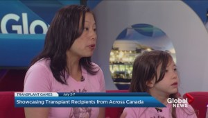 Donor mom comes to B.C. to cheer on young athlete at Transplant Games
