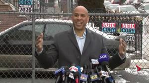 Cory Booker: 'I intend to be the next president of the United States'