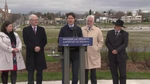 Trudeau announces Lac-Megantic rail bypass nearly 5 years after deadly train accident