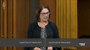 Philpott alleges her rights were violated when Trudeau expelled her from caucus