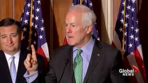 Republican senator says Mueller indictment won't impact agenda, tax reform