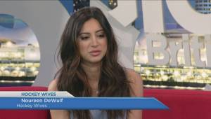 Actress Noureen DeWulf on 'The Hockey Wives' life (04:56)