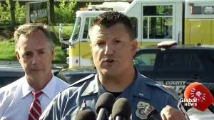 Police provide some details on suspect of shooter, weapon used at office housing newspaper