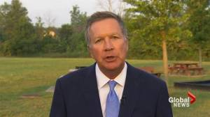 John Kasich slams Trump's 'pathetic' comments on Charlottesville protests