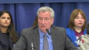 Measles outbreak: de Blasio says goal of city is to get people vaccinated