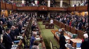 House of Commons rises for minute of silence for victims of the Ecole Polytechnique massacre