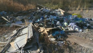 Peachland authorities determining who is responsible for cleaning up massive illegal dump site