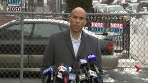 Cory Booker says he will be 'ferocious' in fighting for Americans
