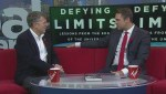Astronaut Dr. Dave Williams speaks about his new book Defying Limits: Lessons from the Edge of the Universe