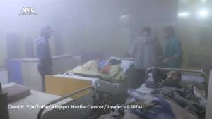 Airstrikes and artillery strikes force Aleppo hospital to shut down