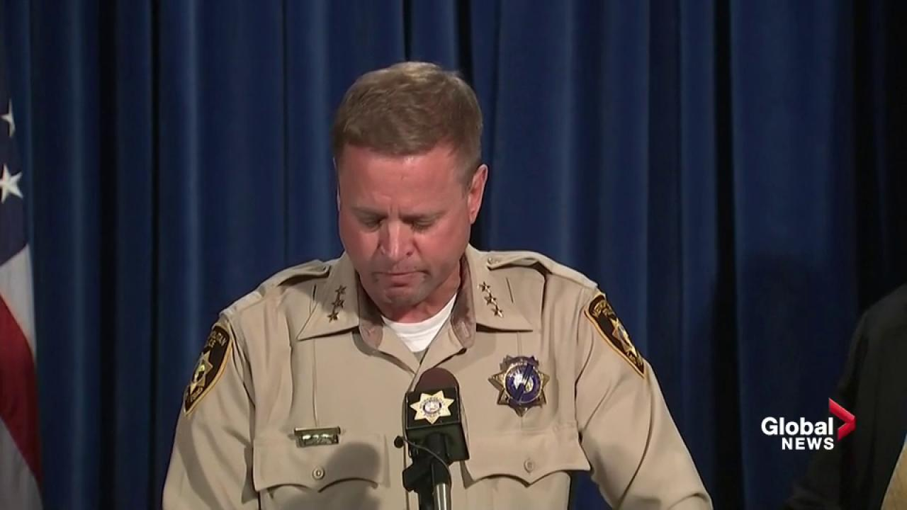 Security guard shot prior to Las Vegas massacre, sheriff says