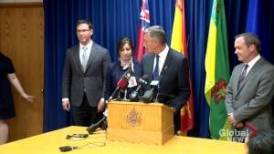 Ministers discussing carbon tax legal challenges during Saskatoon meeting