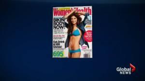 "Women's Health magazine declares they will no longer use the phrase ""bikini body"" on its cover"
