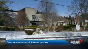 Marking a year year since Barry and Honey Sherman were murdered (02:30)