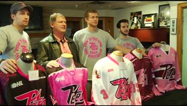 The Petes host the Generals on Feb. 2 for 10th annual Pink in the Rink  event. 18cf696ab