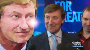 Wayne Gretzky partners with University of Alberta Hospital for brain research