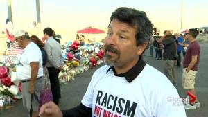 Protest organizer says Trump's rhetoric is to blame in El Paso shooting (03:47)