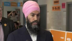 NDP leader Jagmeet Singh on his parties housing plan (01:16)