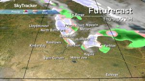 Saskatchewan weather outlook: rain and snow on the way