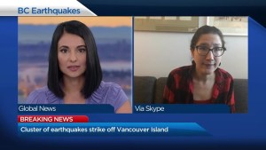 What's behind the string of earthquakes off Vancouver Island?