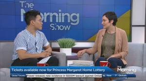 Princess Margaret Home Lottery Early Bird Deadline Midnight Friday, May 4th