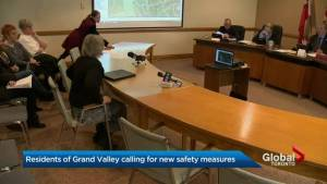 Amaranth town council agrees to look into barriers on flood prone stretch