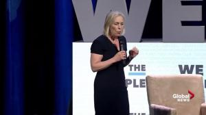 Kirsten Gillibrand speaks at 'We the People' rally in Washington D.C. FULL SPEECH