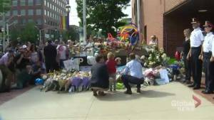 Hundreds attend Fredericton Pride parade with heavy hearts