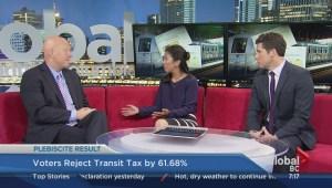 Port Coquitlam mayor Greg Moore on transit plebiscite