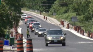 Tempers flare along construction route in Kingston region