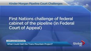 Kinder Morgan court challenges still at play (01:40)