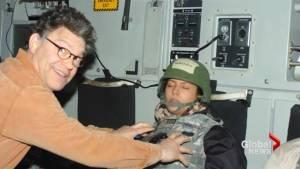 Al Franken accused of groping, unwanted kissing by radio anchor Leeann Tweeden