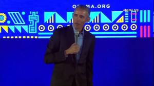 Obama calls on women to run for office, says men 'getting on my nerves lately'