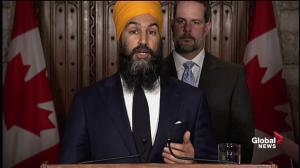 Jagmeet Singh says Alberta-B.C. battle over Kinder Morgan caused by Liberals