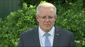 Scott Morrison condemns 'evil' Christchurch mosque mass shootings
