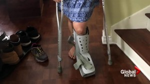 Lakeshore Hospital patient upset after waiting months to hear about broken ankle