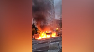 Youth set fire to dozens of cars in Swedish city of Gothenburg