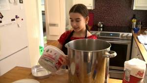 NDG 12-year-old finds sweet summer job with jam-making business (02:07)