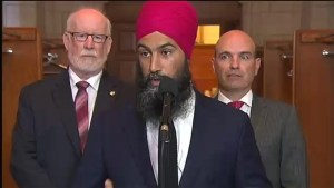 Jagmeet Singh calls on Trudeau to end Trans Mountain pipeline expansion plans