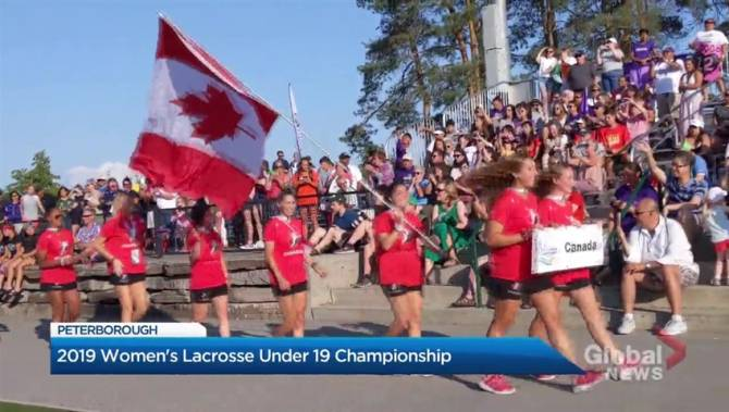 Peterborough hosting 2019 Women's Lacrosse U19 World Championships