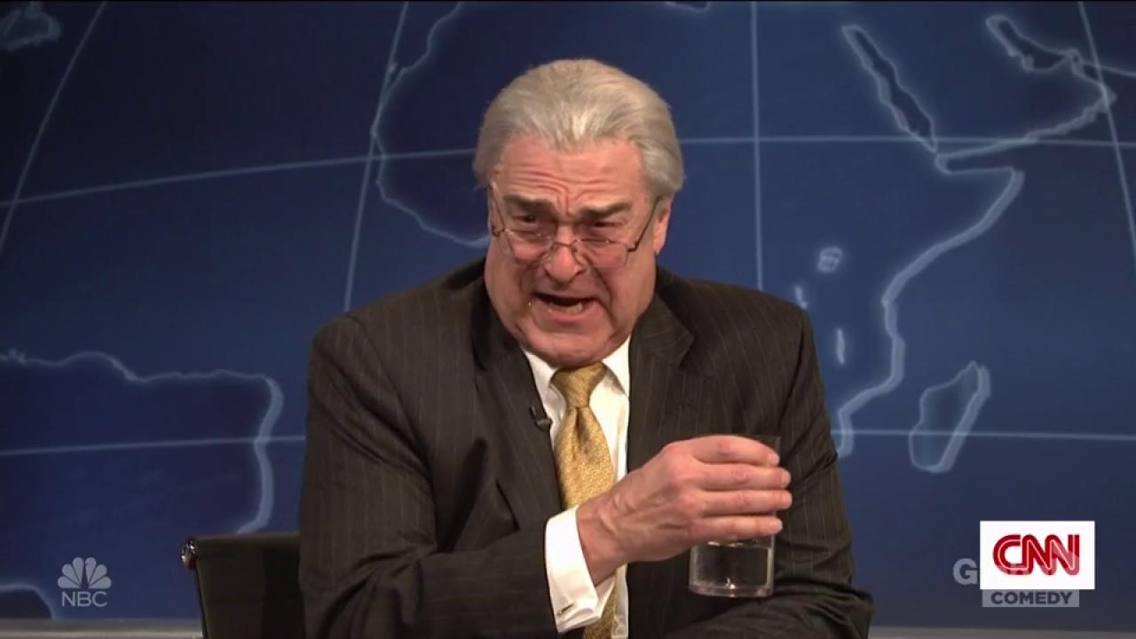 John Goodman Impersonates Rex Tillerson on SNL, Calls Trump a Moron