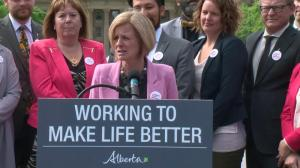 Alberta not likely to implement Bill 12 in near future: Premier Notley