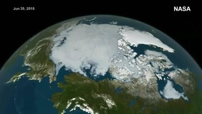 polar ice cap nasa - photo #4