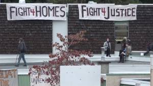 Homeless activists condemned for occupation of school