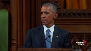 Obama discusses relationship between US, Canada; partnership in creating jobs