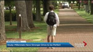 Millennials have a stronger drive to be perfect